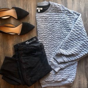 Zara Chunky/ Oversized Sweater